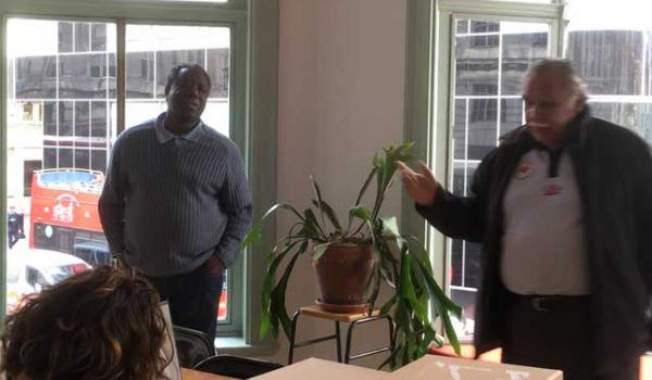 Kofi Mawuli Klu and Ghillar Michael Anderson