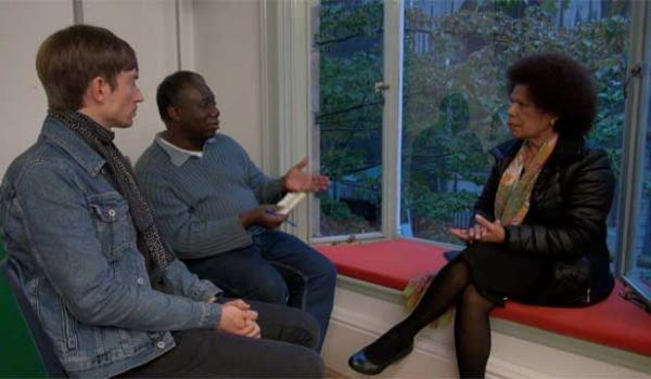 Martin Crook, Kofi Mawluli Klu and Oni Kirwin