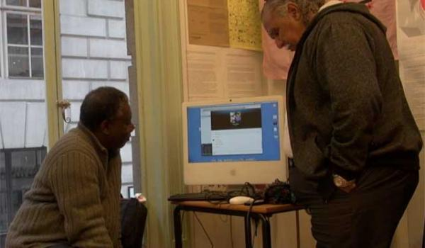 Skyping with Kofi Mawuli Klu and Ghillar Michael Anderson