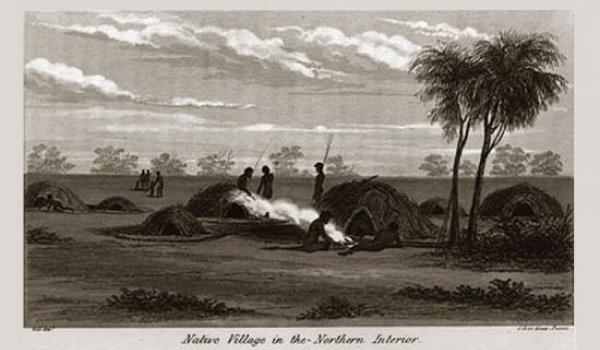 [1 of 2] Image from 'Narrative of an expedition into Central Australia' by Charles Sturt, performed under the authority of Her Majesty's government, during the years 1844, 5, and 6. (University of Adelaide)