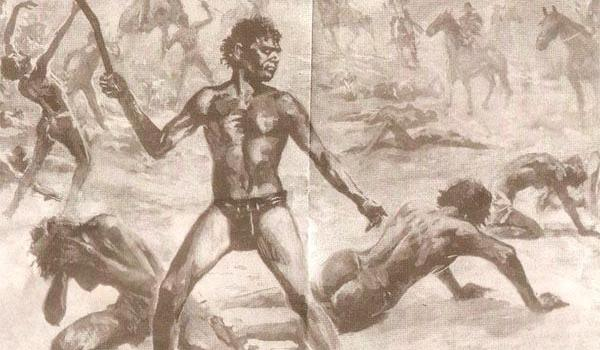 28th October marks the anniversary of the terrible Pinjarra massacre, a grim day in Australian history. It took place in 1834 in Western Australia in the Murray region in the south-west. It had been inhabited for many thousands of years by the Bindjareb Nyungar. That all changed in 1829 when white settlers arrived in Western Australia under the leadership of Captain James Stirling to establish the Swan River Colony. Stirling proclaimed the Nyungar people British subjects and therefore subject to British law