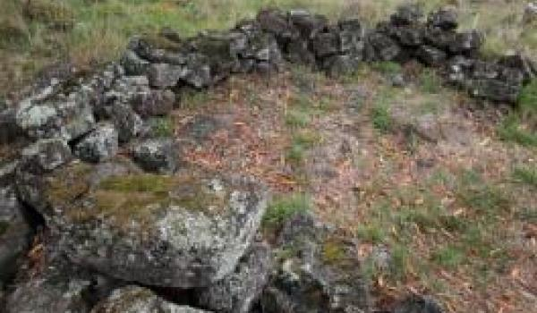 Remains of an Aboriginal stone house in the Budj Bim Cultural landscape state's number one priority- World heritage listing