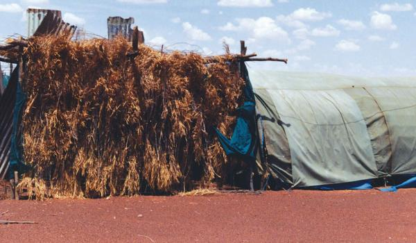 Outstation residence, Little Sandy Desert Photograph by P. Memmott, 1991
