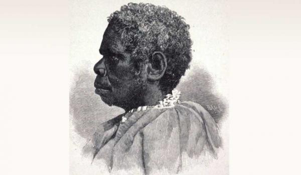 Truganini (Trugernanner, Trukanini, Trucanini) (1812?-76), daughter of Mangana, leader of a band of the south-east tribe in Tasmania. She was relocted to Victoria in 1835 and was a member of 'The Freedom Fighters', her accomplices were hanged were hanged for murder but she was set free.