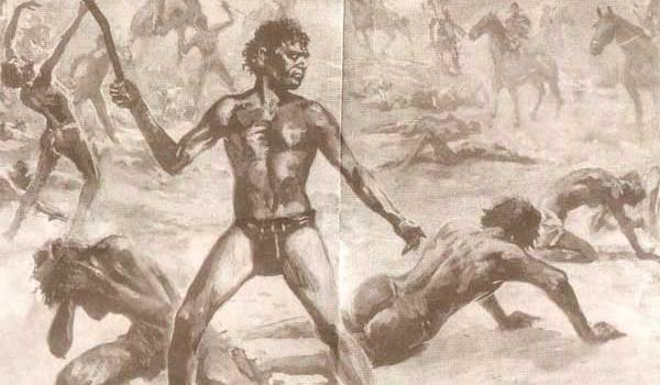 'Whiteout: Massacres of Aboriginals by European settlers were ignored in official histories for many generations' - Source: nyungah.org.au